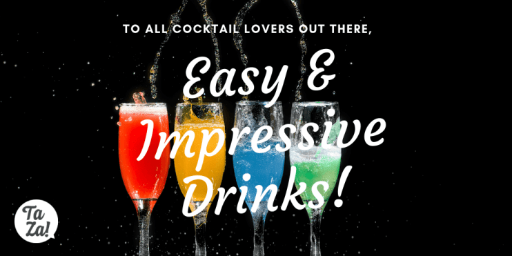 5 easy impressive cocktail drinks