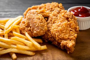 taza grill east lyme chicken with fries scaled e1611755145620