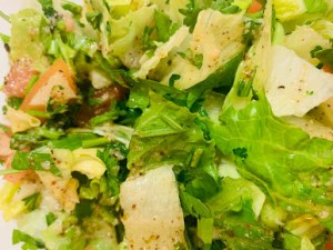 taza grill east lyme salad 1