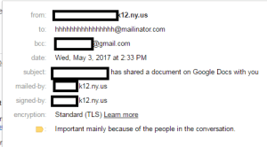 google email scam