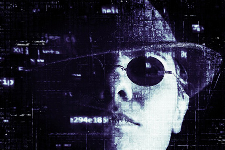 hacker illustration - What do business owners need to know about the dark web?