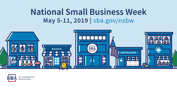 graphic for National Small Business Week