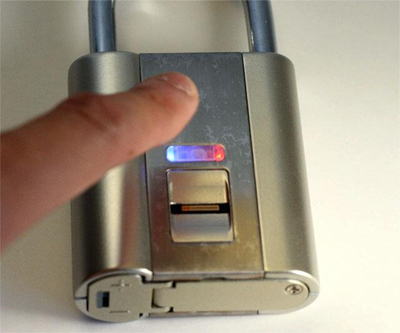 Image of finger about to activate an electronic padlock to illustrate NIST 800-171 security compliance requirements.