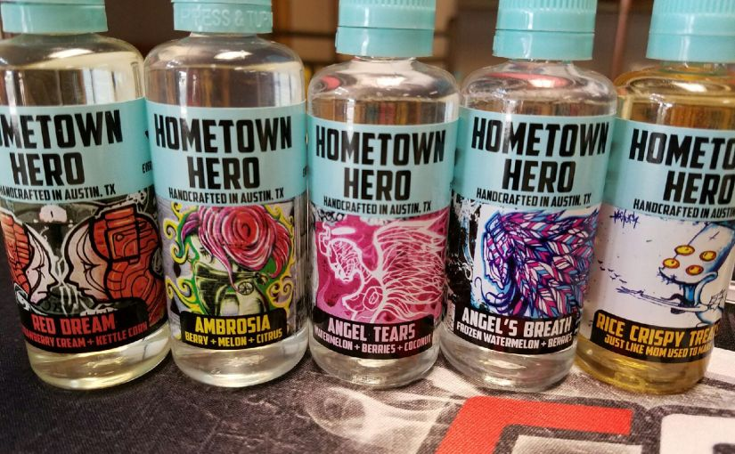 hometown hero juice @ taz vapor
