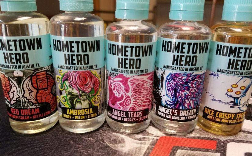 hometown hero juice @ taz vapor