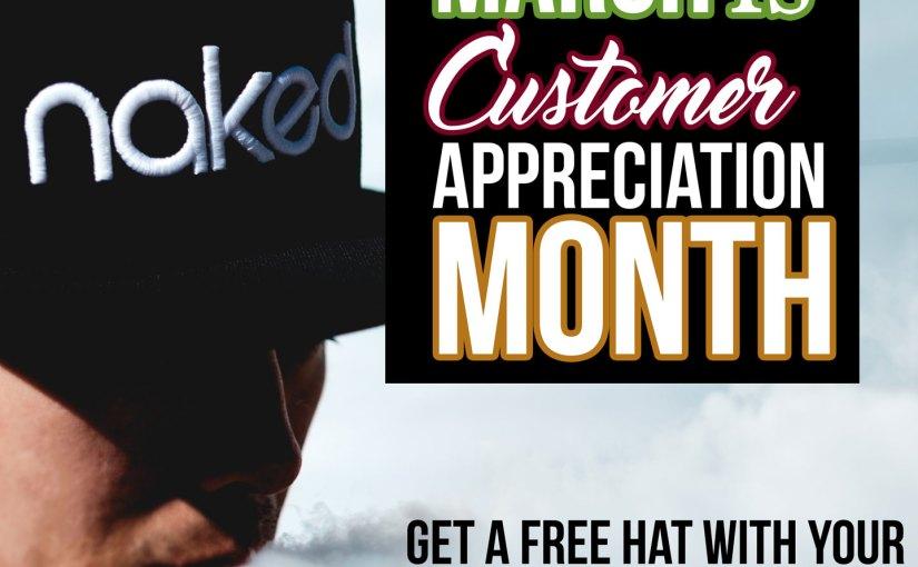 free naked hat!