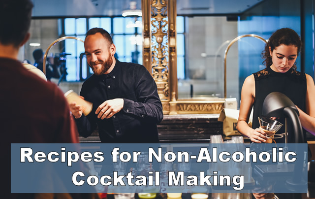 Recipes for Non-Alcoholic Cocktail Making