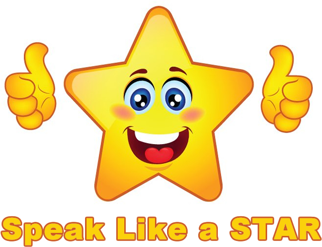 Speak Like a STAR