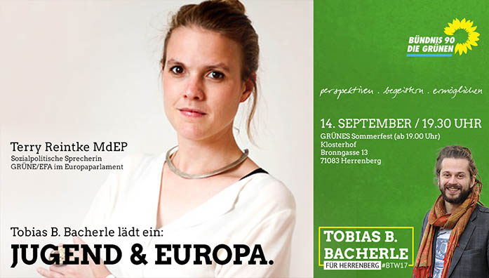 Jugend & Europa. Mit Terry Reintke MdEP