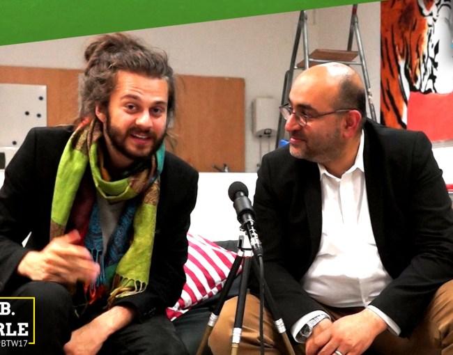 Außenpolitik    Tobias B. Bacherle und Omid Nouripour im Gespräch