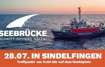 Seebrücke – Breites Bündnis ruft zur Demo in Sindelfingen auf