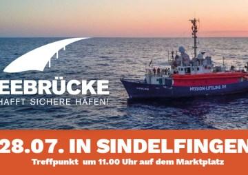Seebrücke – Demo in Sindelfingen