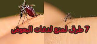 7 طرق لمنع لدغات البعوض