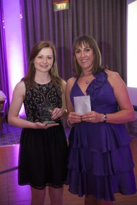 Left to right: Nicola Davis with Rachael Verinder of Milsted Langdon.