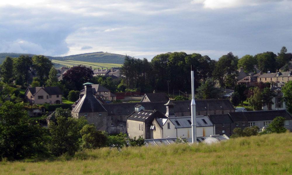 Mortlach Destillerie in Dufftown