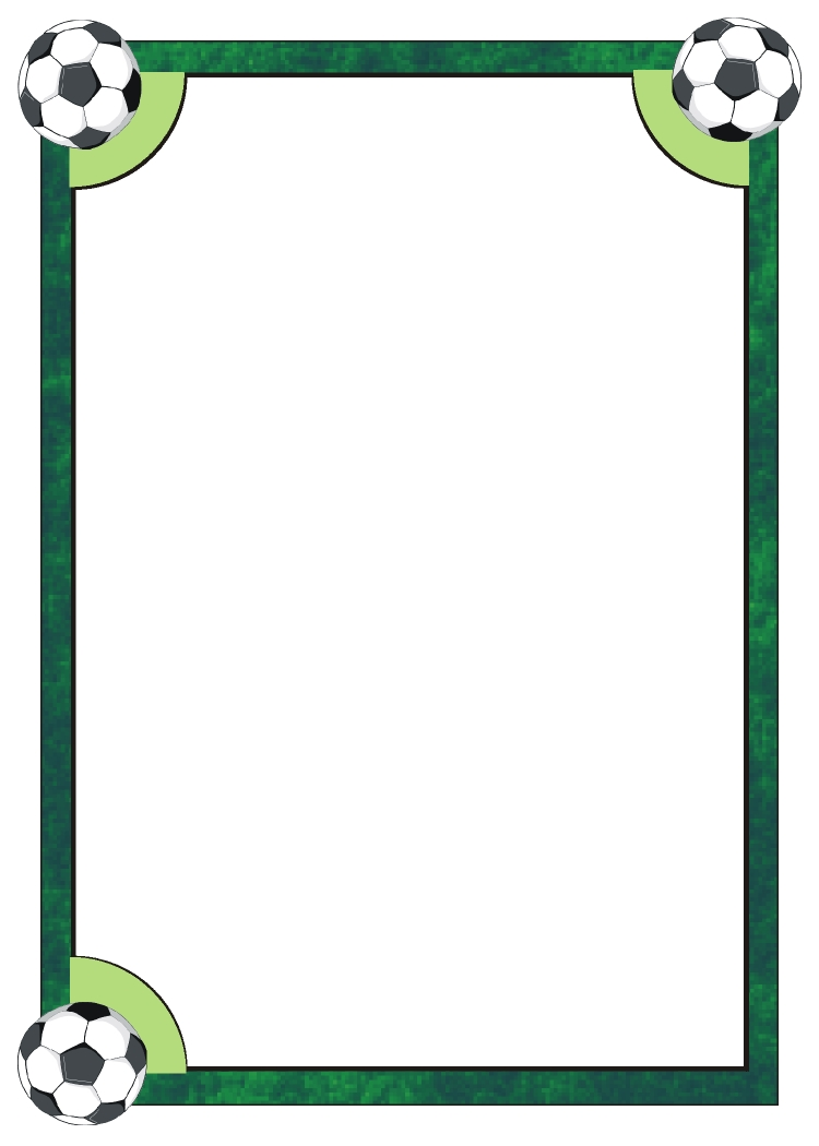Picture Frame Golf Card