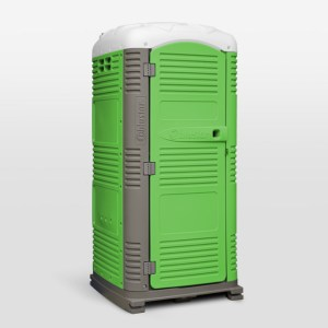 Bright Green MyBlok Customizable Special Events Portable Toilet