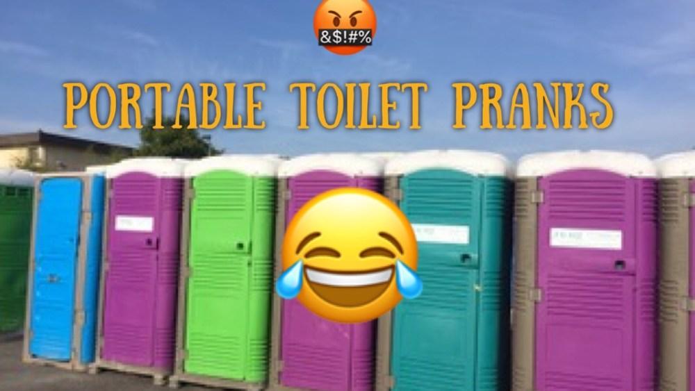 fun portable Toilet PRANKS