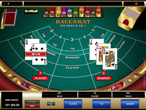 Baccarat Online Casinos - Learn on how to play Baccarat ...