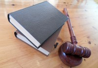 books and gavel