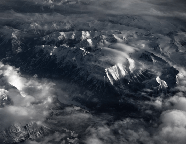 The Rockies from above