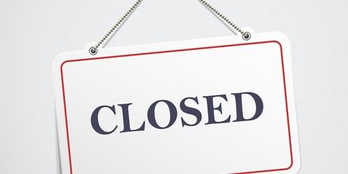 Closed   Closed Sign   Closing