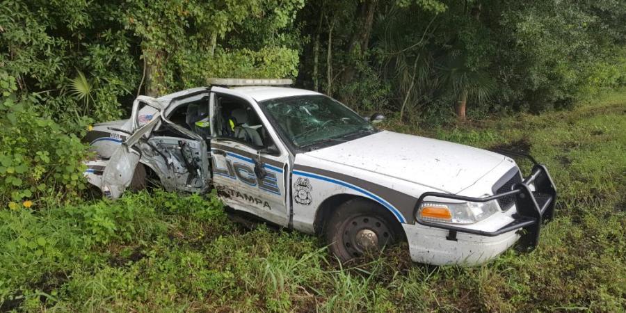 Traffic Crash   Tampa Police   FHP