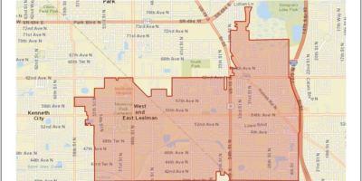 Lealman CRA | Lealman Map | Lealman