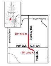 Expect Traffic Delays Around Starkey Road in Seminole
