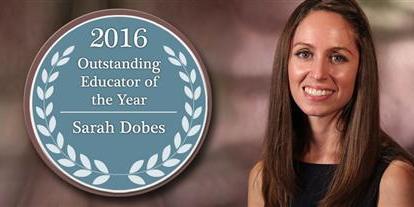 Sarah Dobes | East Lake Middle | Pinellas Educator of Year