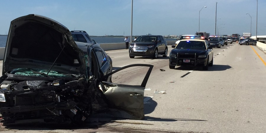 Florida Highway Patrol | Traffic Crash | Howard Frankland