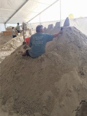 Building Sand Castles - and So Much More - on Clearwater Beach
