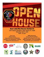 East Lake Fire Holds Open House