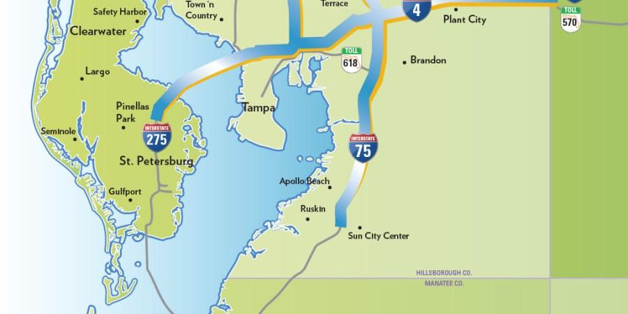 Tampa Bay Express   FDOT   Road Projects