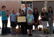 Walsingham Elementary Pupils Gather Pennies for Puppies