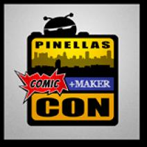 Pinellas Comic Con Logo | Pinellas Comic and Maker Con | Seminole