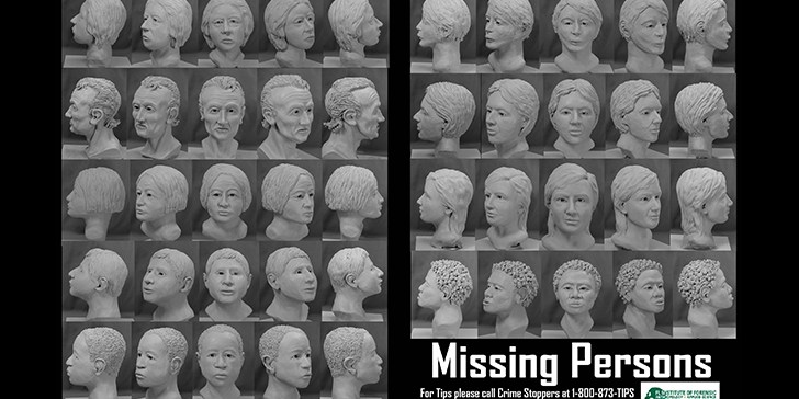 Cold Cases   University of South Florida   Forensics Artists