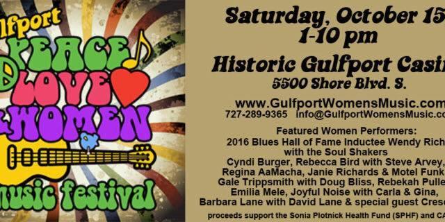 Peace Love & Women Music Festival | Gulfport | Gulfport Casino