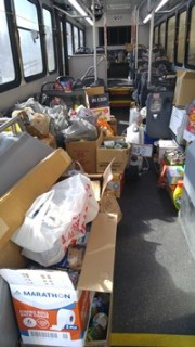 Pasco Stuffs the Bus with 10,000 Pounds of Food