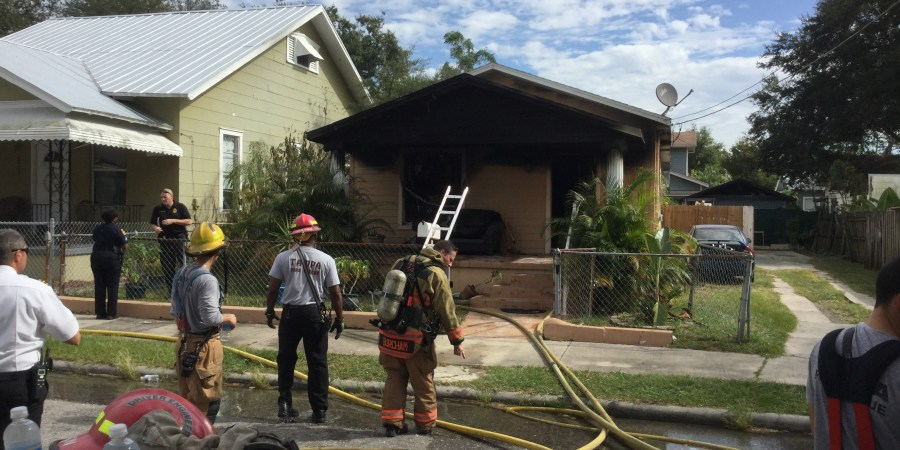 Tampa Fire Rescue | House Fire | Arson Task Force