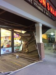 Awning Collapses at Carrollwood Health Food Store