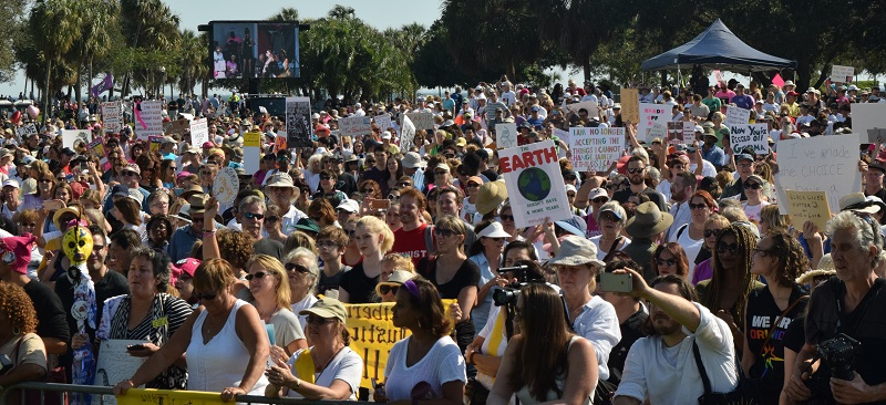Women's March St. Pete | Protest | TB Reporter