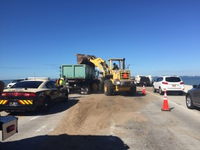 Skyway Crash | Florida Highway Patrol | Dump Truck Overturns