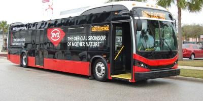 Electric Bus   PSTA   Transportation