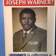 Joseph Warner Flyer | St. Petersburg Police Cold Case Squad | Brinks Reward