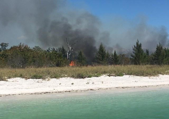 Shell Key Fire | Pinellas Sheriff | Brush Fire