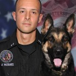 Officer Vazquez and Ares | St. Petersburg Police | Police Dog