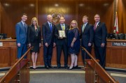 Scott Honors Pinellas Adopt-a-Block Director