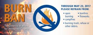 Burn Ban Logo | Hernando County | Wildfire