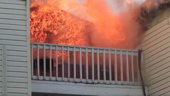 Hillsborough Fire Rescue | Tampa Fire | Apartment Fire
